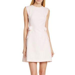 Ted Baker Meline Side Bow Shift Pink Pocket Dress